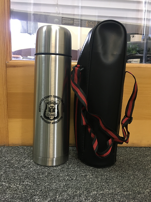 WCOBA Thermos with bag