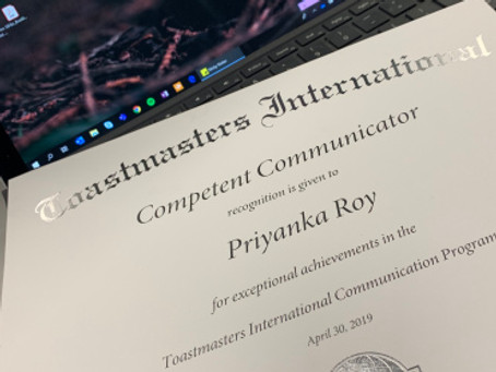 The Toastmaster Effect