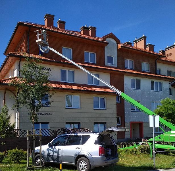prace wysokościowe w Gdańsku