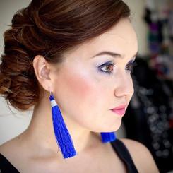 #moda #makeup #blue #color #beauty #wedd