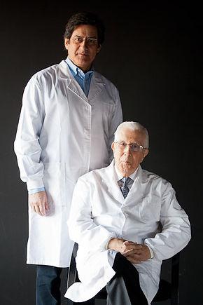 Adão e seu pai Aureliano da Fonseca