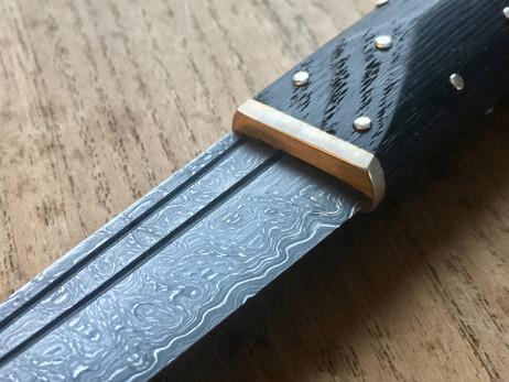 Dark Medieval Knife