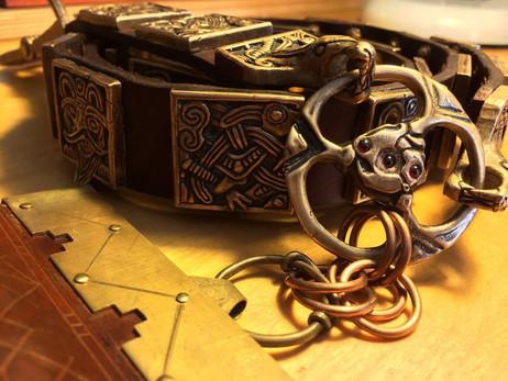 Zeb's Seax and Matt's Belt