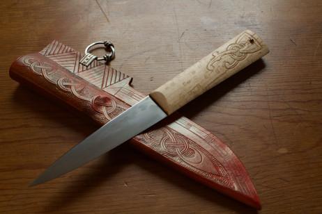 Garnet Viking Utility Knife