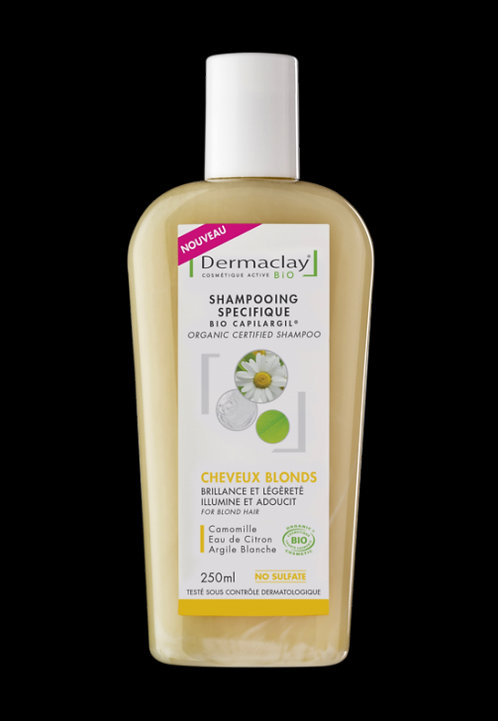 Shampoing cheveux blond 250ml Dermaclay