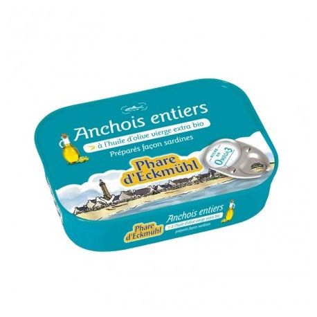 ANCHOIS HUILE OLIVE 115G