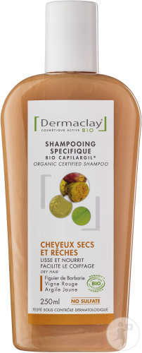 Shampoing cheveux secs et rêches Dermaclay
