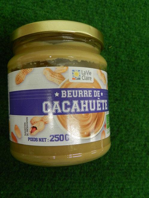 Beurre de cacahuète BIO - La Vie Claire - 250 g