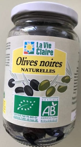 Olives noires 370g