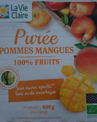 Compote Pommes Mangues