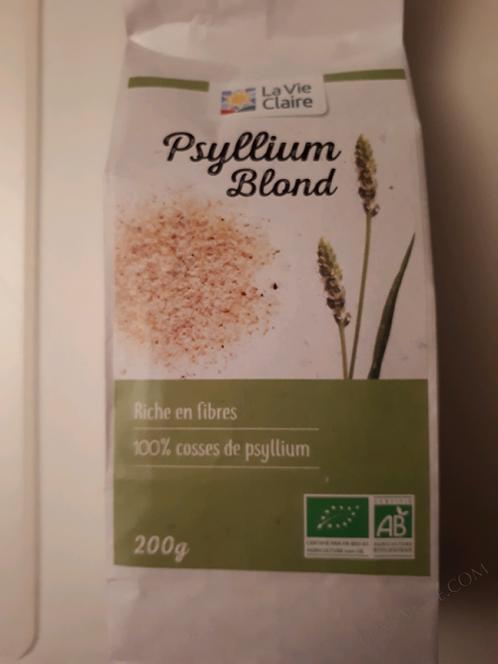 Psyllium blond la vie claire 200g