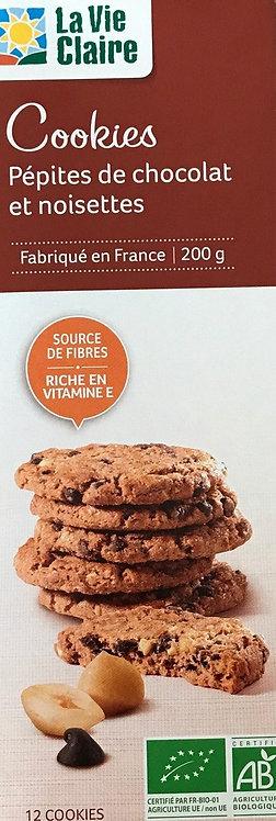 Cookies pépite de chocolat et noisettes