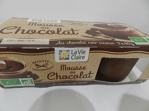 Mousse au chocolat 2 pots