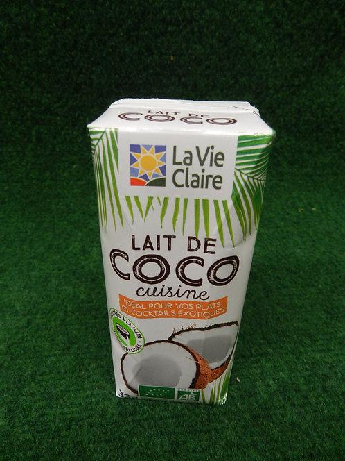 Lait de coco cuisine 33cl