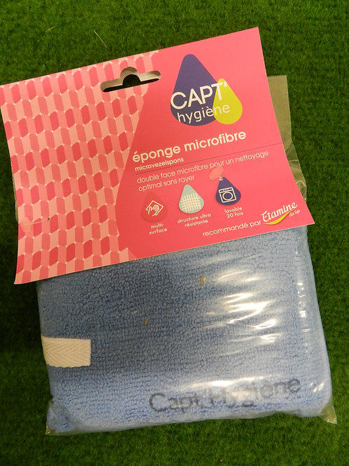 Éponge microfibre capt-hygiène