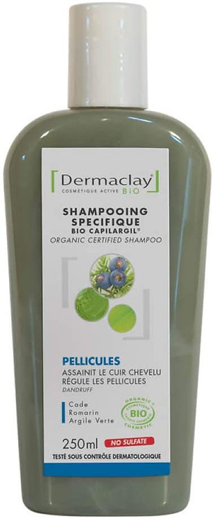 Shampoing anti pelliculaire 250ml Dermaclay