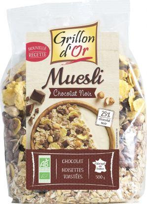 Muesli chocolat noisettes