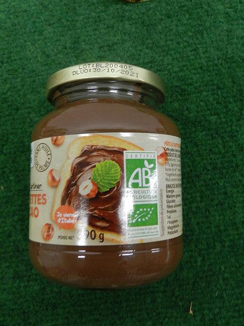 Pâte à Tartiner Cacao Noisettes 390g