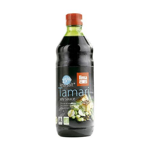 tamari -25% de sel 250 ml
