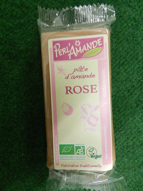 Pâte d'amande rose perl'amande