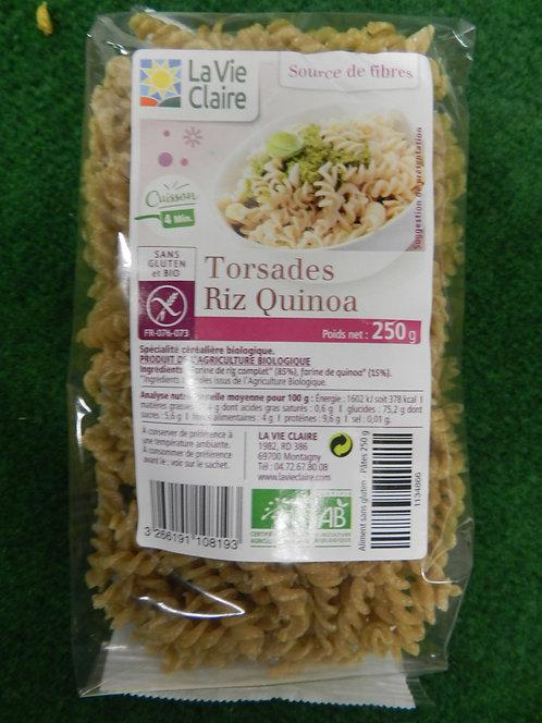 Torsades riz quinoa