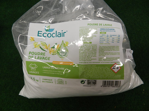 Poudre de lavage 1.5 KG Ecoclair