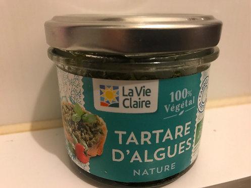 Tartare d'algues nature 90g la vie claire