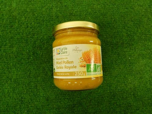 Miel de pollen gelée royale