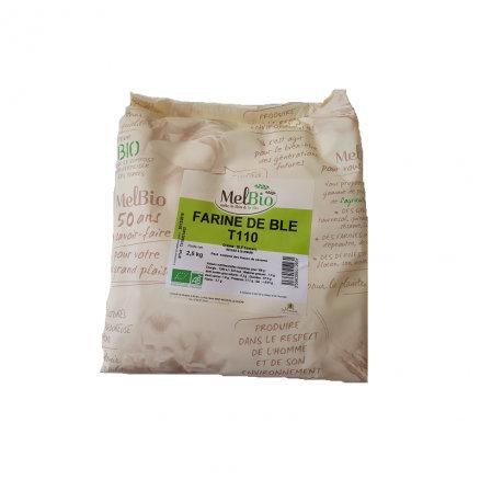 Farine Meule T110 MelBio 2.5kg