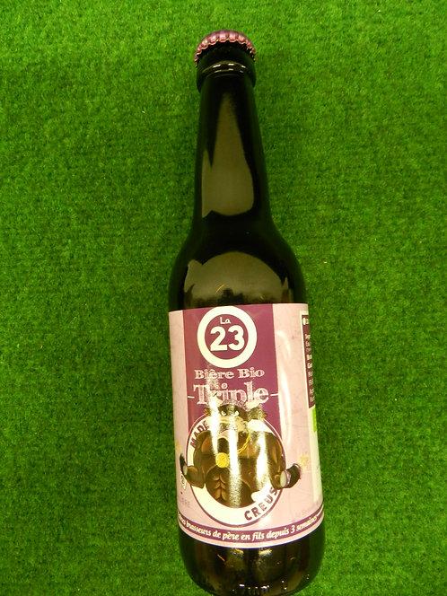 Bière triple bio 33 cl creuse
