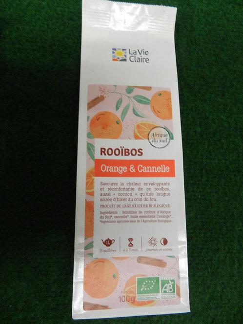 Rooïbos orange canelle