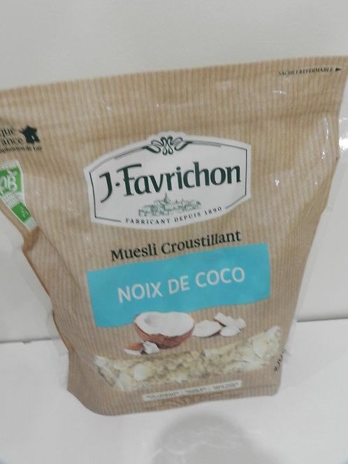 Muesli croustillant noix de coco