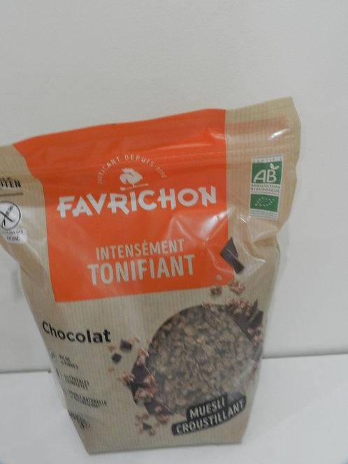 Muesli croustillant chocolat 500g