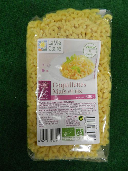 Coquillettes maïs riz