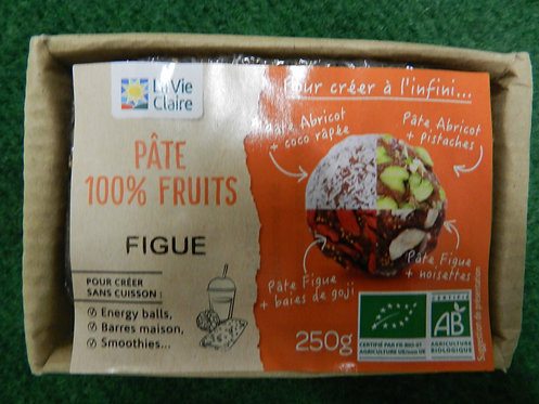 Pate 100% figues 250g