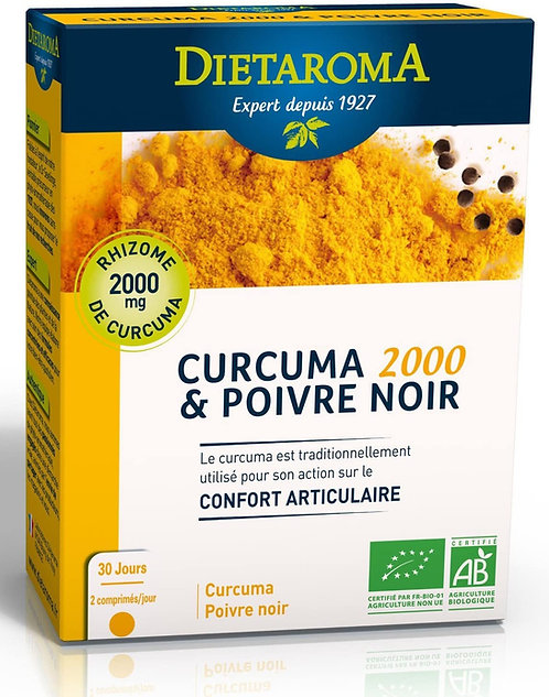 Curcuma et poivre npir