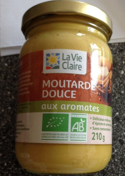 Moutarde douce aux aromates  215g