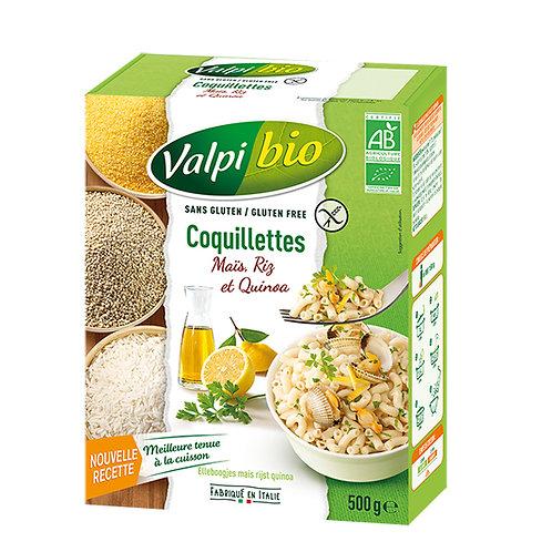 Coquillette maïs riz quinoa