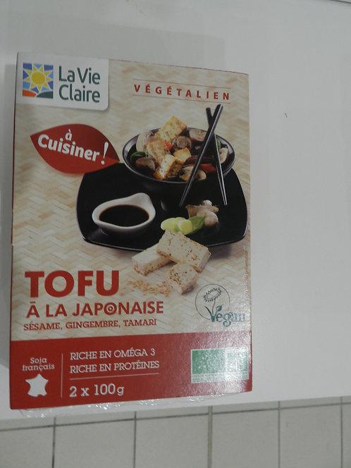 Tofu à la japonaise