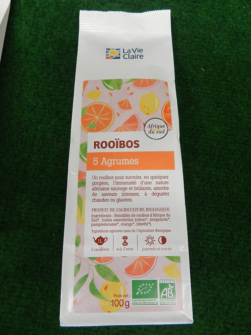 Rooïbos 5 agrumes