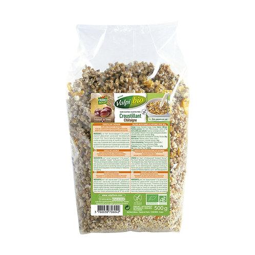 Céréales croustillants châtaignes valpi bio