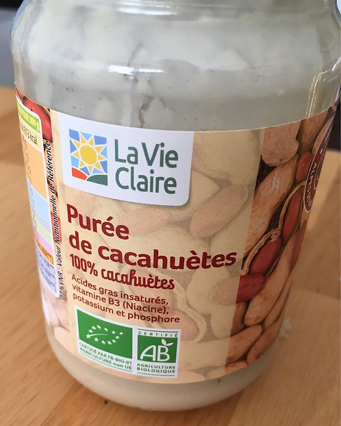 Puree de cacahuetes - La Vie Claire - 300 g