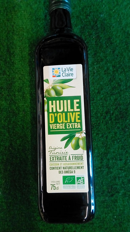 Huile d'olive vierge 75cl