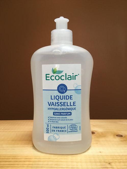 Liquide vaiselle sans parfum