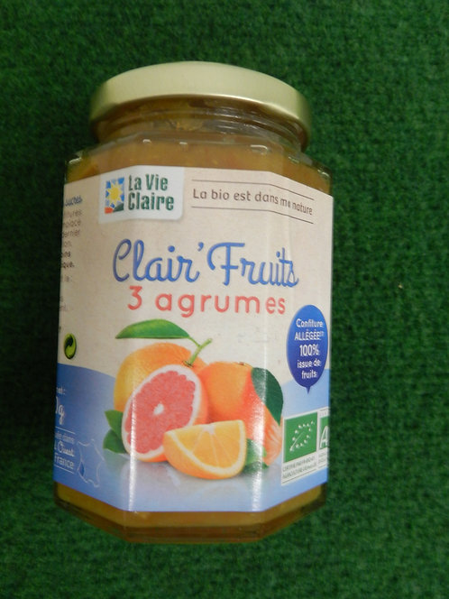 Clair fruits 3 agrumes