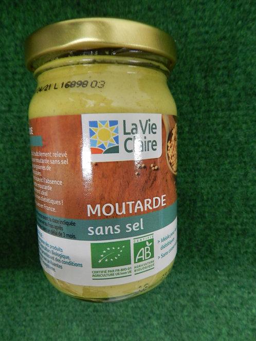 Moutarde sans sel 200g