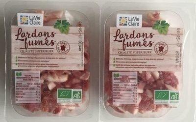 Lardons Fumés - La Vie Claire - 150 g (2 * 75 g)