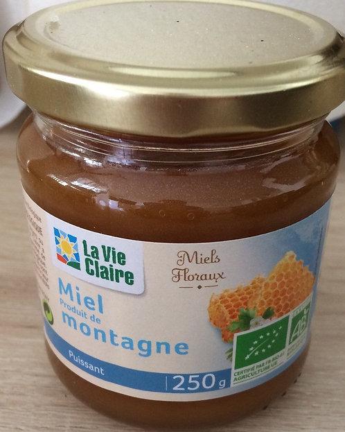 Miel de montagne - La Vie Claire - 250 g