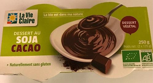Dessert au soja cacao X 2