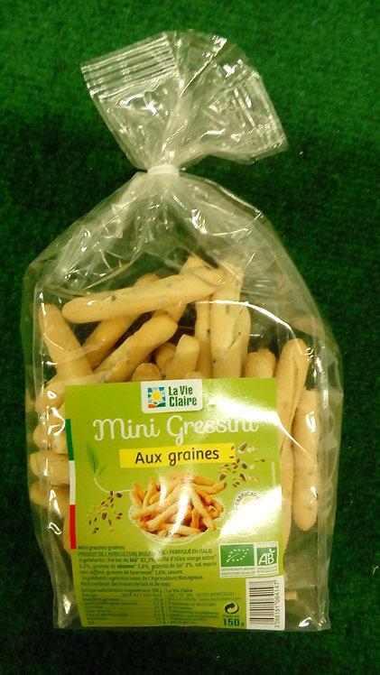 Mini gressini aux graines